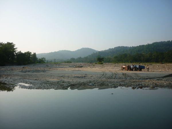 Fluss nahe dem Resort